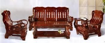 pure teak wood stylish sofa set ट क