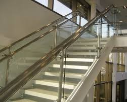 1 1 meter height stainless steel glass