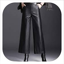women waist nine pants wide leg pants