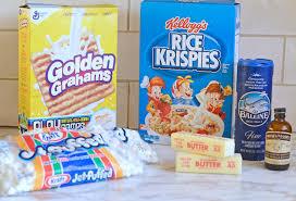 chewy gooey golden rice krispie treats