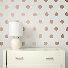Rose Gold Lottie Dot Decals Gold Polka Dot Wall Decals Polka Dot Decal Polka Dot Wall Decals