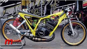 modifikasi yamaha rx z drag bike sejak