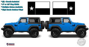 2 6 Or 12 Texas State Flag Vinyl Hood Decals Lone Star State Usa Fi Roe Graphics And Apparel