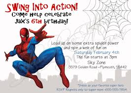 New Tips Of Free Editable Spiderman Birthday Invitations Qhd