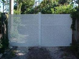 A Layman S Den Pvc Lattice Pipe Driveway Gate