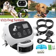 Wireless Electric Dog Pet Fence Containment System Shock Transmitter Collar Rechargeable Waterproof 3 Receiver Walmart Com Walmart Com