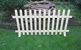 Amazon Co Uk Picket Fence Panels