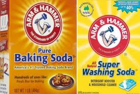 washing soda and baking soda