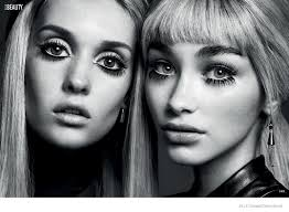 elle canada spotlights 60s makeup