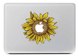 Sunflower Vinyl Decal For Diy Macbook Pro 13 15 Inch And Air 11 13 Inch Decal Skin Laptop Sticker Laptop Sticker Skin Laptoplaptop Skin Decal Aliexpress