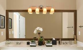 awesome bathroom light over mirror 107