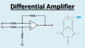 op amp diffeial amplifier circuit