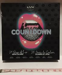 nyx lippie countdown 24 days of lip