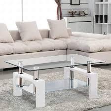 com suncoo coffee table glass