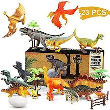Wostoo Dinosaur Toys Set 23pcs Educational Dinosaur Toys Playset Realistic Dinosaur Figures Jurassic World Dinosaurs Toy Includes Trees Dinosaur Eggs Fence Kit For Boys Grils Kids Toddlers Amazon Co Uk Kitchen Home