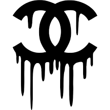 Chanel Drip Decal Sticker Chanel Drip Decal Thriftysigns