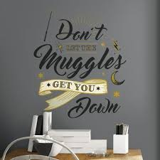 Harry Potter Wall Decals Roommates Decor