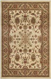 rug in ivory and tan safavieh lnh211a