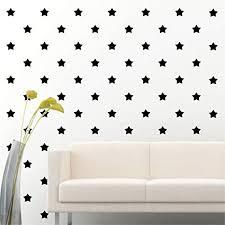 Amazon Com 2 Set Of 180 Black Star Wall Decal Stars Vinyl Sticker Wall Pattern Decor Arts Crafts Sewing