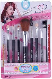 high quality cosmetics makeup brush set
