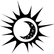 Design With Vinyl Sun And Moon Figure Wall Decal Wayfair