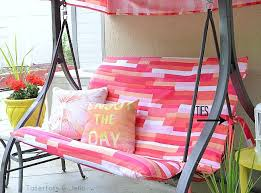 outdoor swing makeover with images