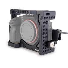 MAGICRIG Khung Máy Ảnh với Cáp HDMI Kẹp cho Sony A6400/A6000/A6300/A6500 để  Gắn Micro Đèn Flash ánh sáng Màn Hình|ổn định cho dslr|ổn định cho máy  ảnhmáy ảnh ổn định - Gooum