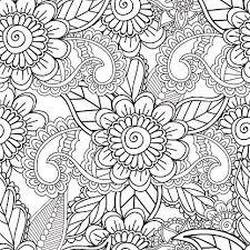 Kleurplaten Voor Volwassenen Gelast Henna Mehndi Doodles Abstract