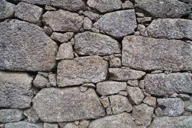 granite stone wall construction