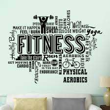 Fitness Club Decal Barbell Body Building Posters Vinyl Wall Decals Decor Mural Gym Sticker Fitness Crossfit Decal Gym Sticker Y200103 Room Stickers Room Stickers Decorations From Shanye10 10 76 Dhgate Com