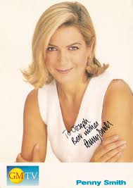 Penny Smith GMTV Hand Signed Cast Card Photo: Very good Signed by Author(s)  | Postcard Finder