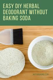 easy diy herbal deodorant without