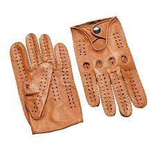 winter men leather gloves