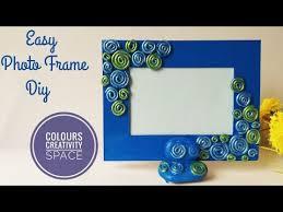 diy how to make easy photo frame
