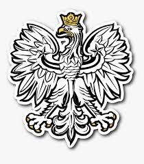 Polish Eagle Vinyl Decal Sticker Polish And Proud Hd Png Download Kindpng