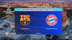 BARCELONA vs BAYERN MUNCHEN | UEFA Champions League - 2020 [PES ...
