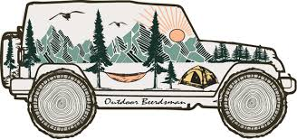 Jeep Decal Outdoor Beerdsman
