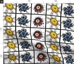 the emperor s garden spoonflower