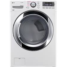 DLEX3370WLG Appliances 7.4 Cu. Ft. Electric SteamDryer™ with NFC ...