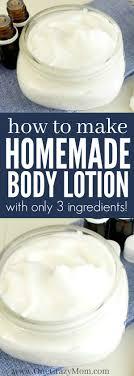 easy homemade lotion recipe