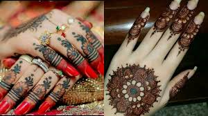 mehndi designs for bridal like