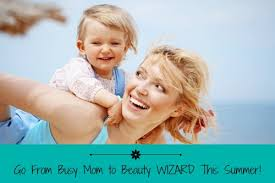summer makeup tips for busy moms