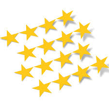Yellow Stars Vinyl Wall Decals Shapes Patterns Decalvenue Com Decal Venue