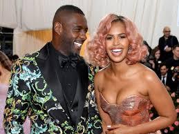 Idris Elba and Sabrina Dhowre wore Versace at the Met Gala - Insider