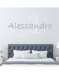 New Deals On Boy S Custom Name And Initial Wall Decal Choose Your Own Name Initial And Letter Styles Multiple Sizes Vinyl Wall Stickers For Kids Wall Decal Sticker Wall Decor Wall Decal
