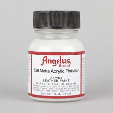 angelus acrylic leather paint matte