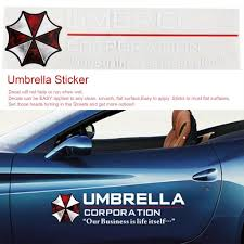 Car Stickers Resident Evil Umbrella Corporation Creative Sticker Waterproof Gcc Buy At A Low Prices On Joom E Commerce Platform