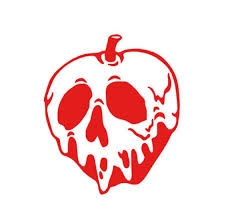 Poison Apple Snow White Decal For Yeti Cup Tumbler Coffee Etsy