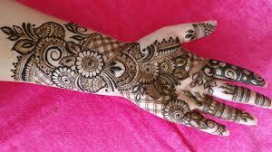 mehndi design bridal arabic