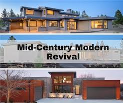 transitional mid century modern house